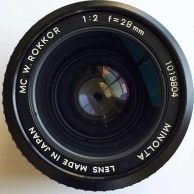 Minolta MC W.Rokkor(-X) 28mm f2 MC-X (1975)