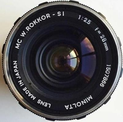 Minolta MC W.Rokkor-SI 28mm f2.5 II (1969)
