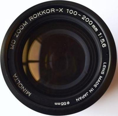 Minolta MC Zoom Rokkor 100-200mm f5.6 MC-X (1972)