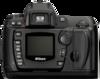 Nikon D70 Digital Camera rear