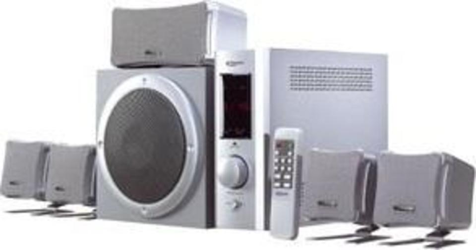 Typhoon Acoustic 5.1 Amplified Speaker System front