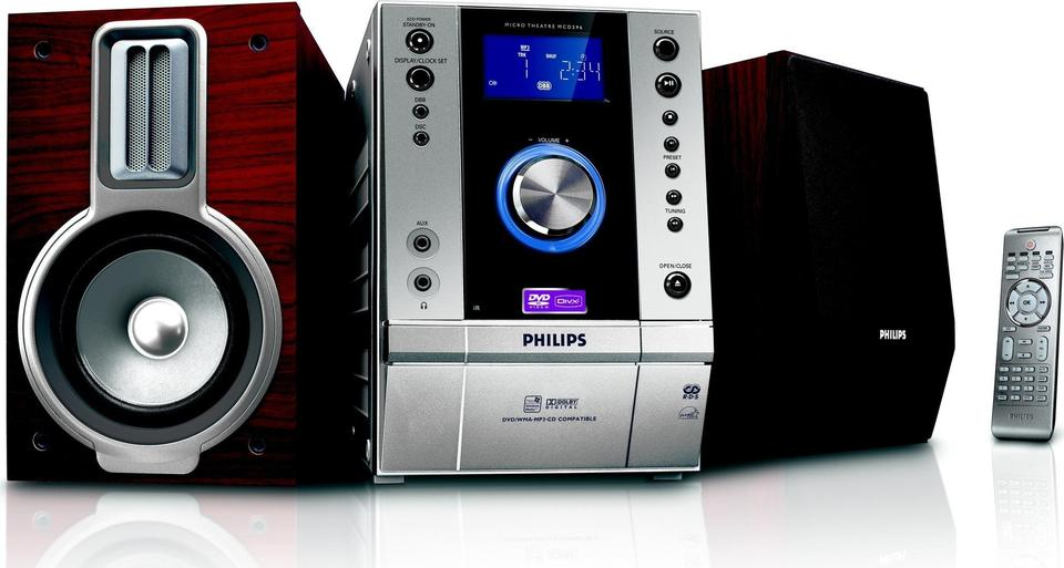 Philips MCD296 front