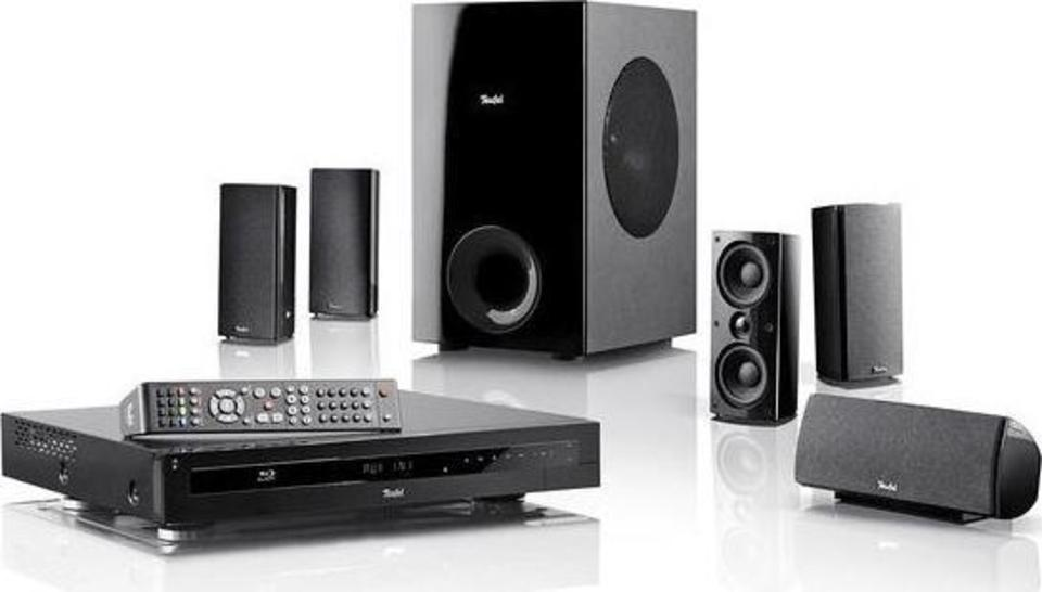 "Teufel Impaq 3000 Mk2 Blu-ray System ""5.1-Set"" front"