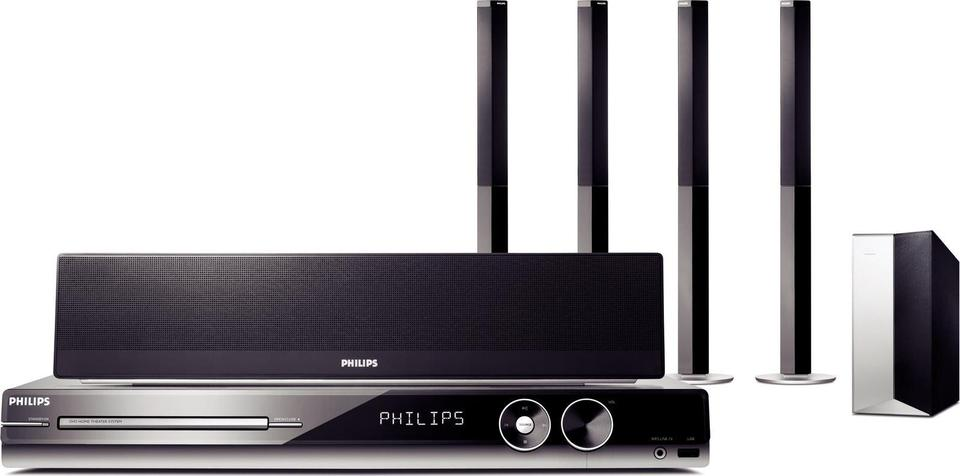 Philips HTS3548W front