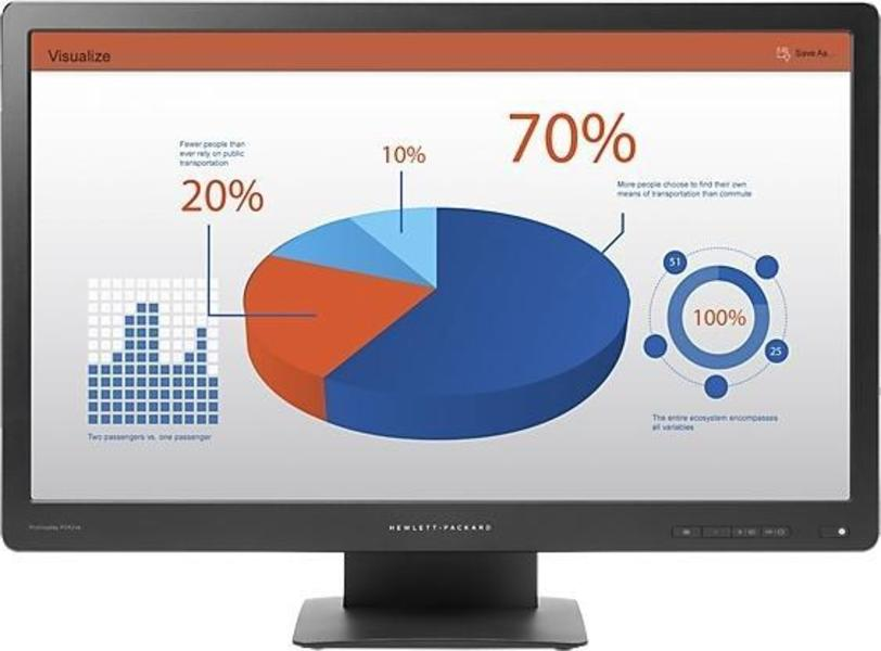 HP ProDisplay P242va Monitor