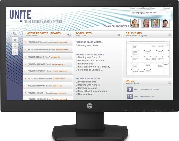 HP V197 Monitor