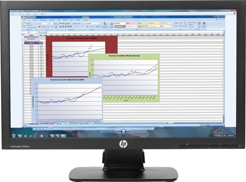 HP ProDisplay P222va Monitor