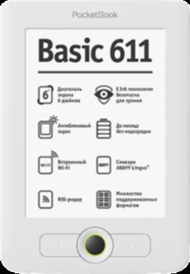 PocketBook Basic 611 Ebook Reader
