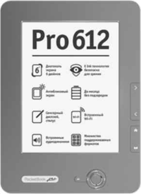 PocketBook Pro 612 Lecteur ebook