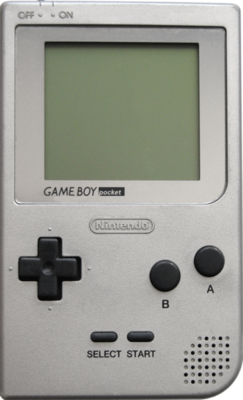 Nintendo Game Boy Pocket Portable Console