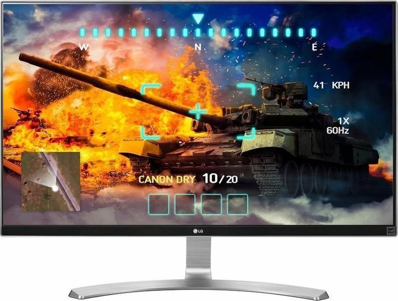 LG 27UD68-W Monitor front on