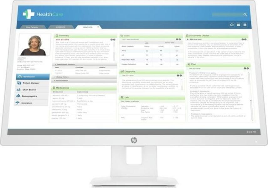 HP HC271 Monitor