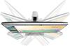 HP EliteDisplay E233 monitor top