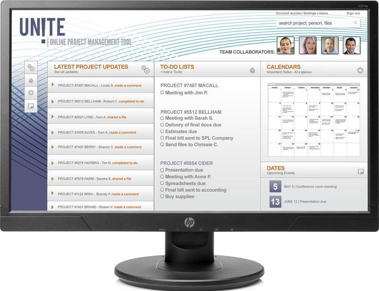 HP V214a Monitor
