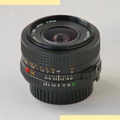 Minolta MD 35mm f2.8 III (1981)