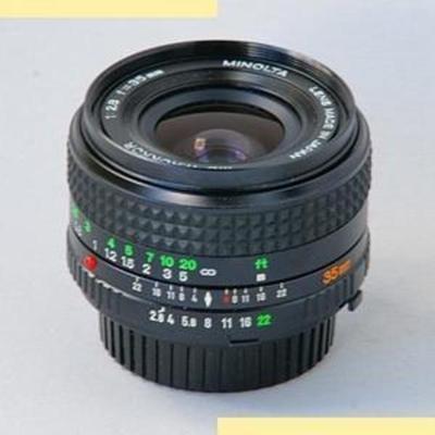 Minolta MC W.Rokkor(-X) 35mm f2.8 MC-X (1975)