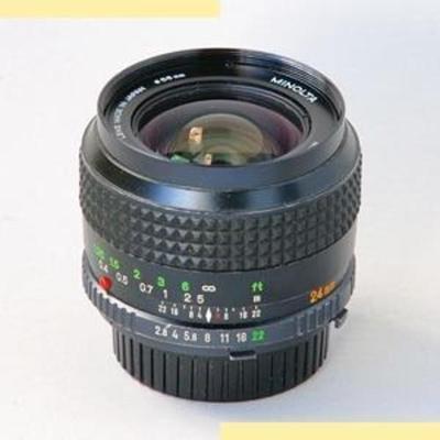 Minolta MC W.Rokkor-OJ 24mm f2.8 II (1971)