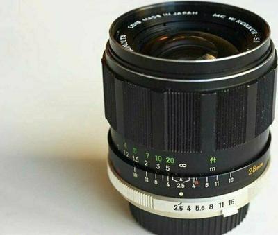 Minolta MC W.Rokkor-SI 28mm f2.5 I (1969)