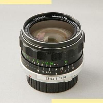 Minolta MC W.Rokkor-SG 28mm f3.5 I (1968)