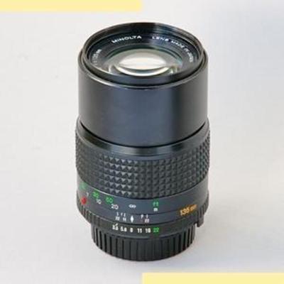 Minolta MC Tele Rokkor(-X) 135mm f3.5 MC-X (1974) Lens
