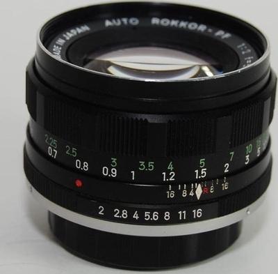 Minolta Auto Rokkor-PF 55mm f2 SR (1965) Lens