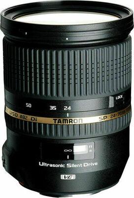 Tamron SP 24-70mm F2.8 Di VC USD Lens