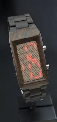 Kisai Sequence Wood LinkLED Smartwatch