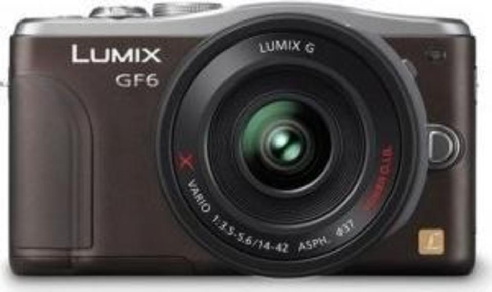 Panasonic Lumix DMC-GF6 front