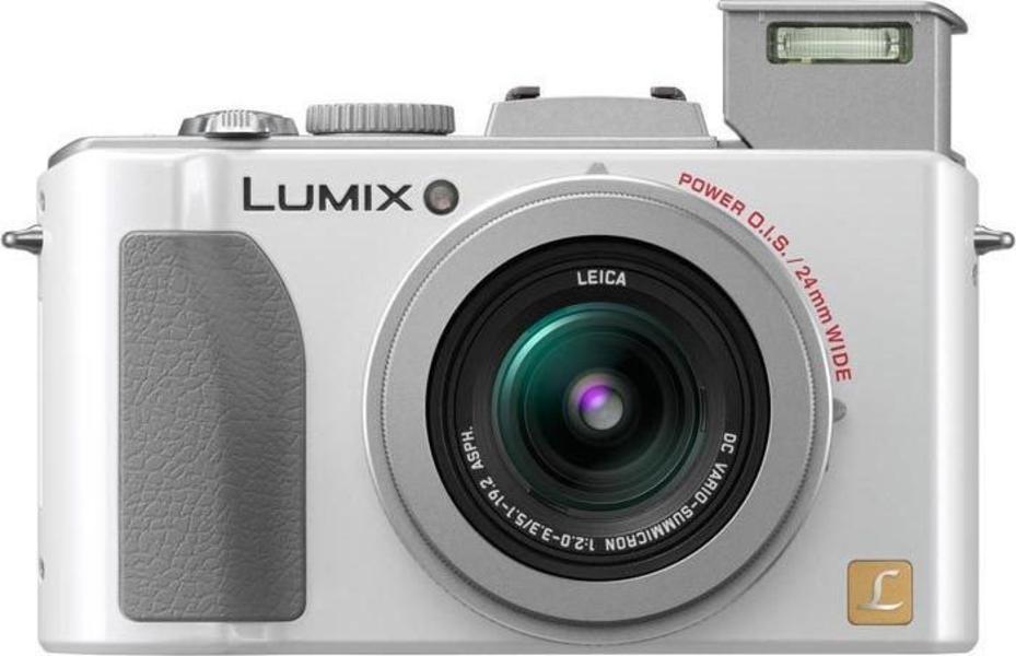 Panasonic Lumix DMC-LX5 front