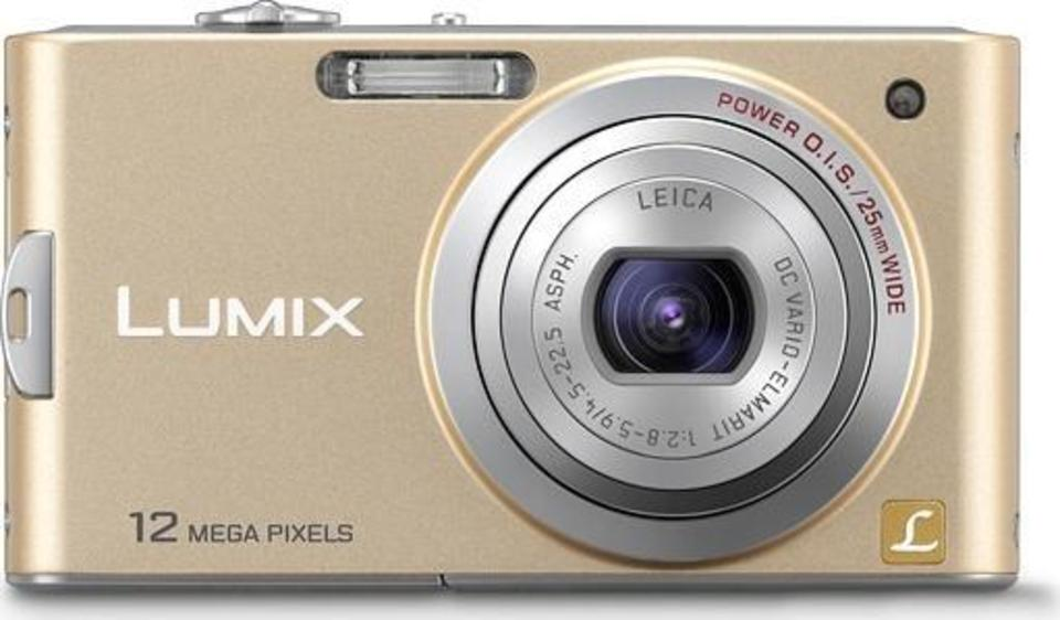 Panasonic Lumix DMC-FX65 front