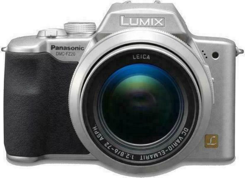 Panasonic Lumix DMC-FZ20 front