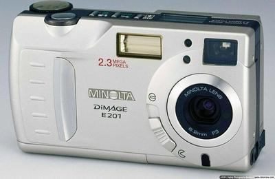 Konica Minolta DiMAGE E201 Digitalkamera