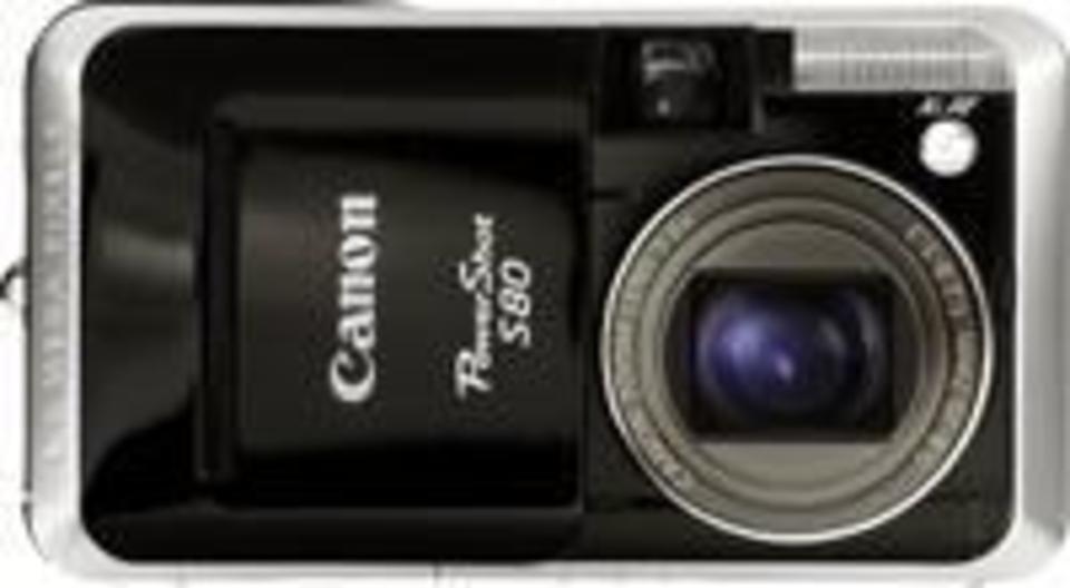 Canon PowerShot S80 Digital Camera