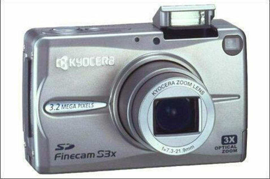 Kyocera Finecam S3x Digital Camera