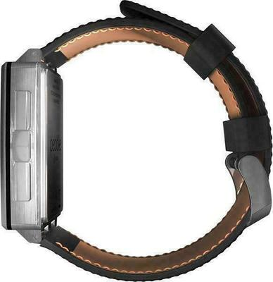 Pebble Steel Smartwatch Leather