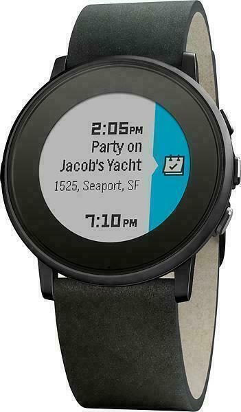 Pebble Time Round 20mm Smartwatch