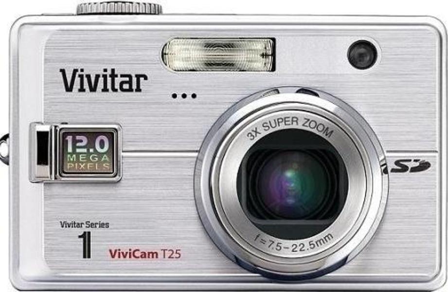 Vivitar ViviCam T25 front