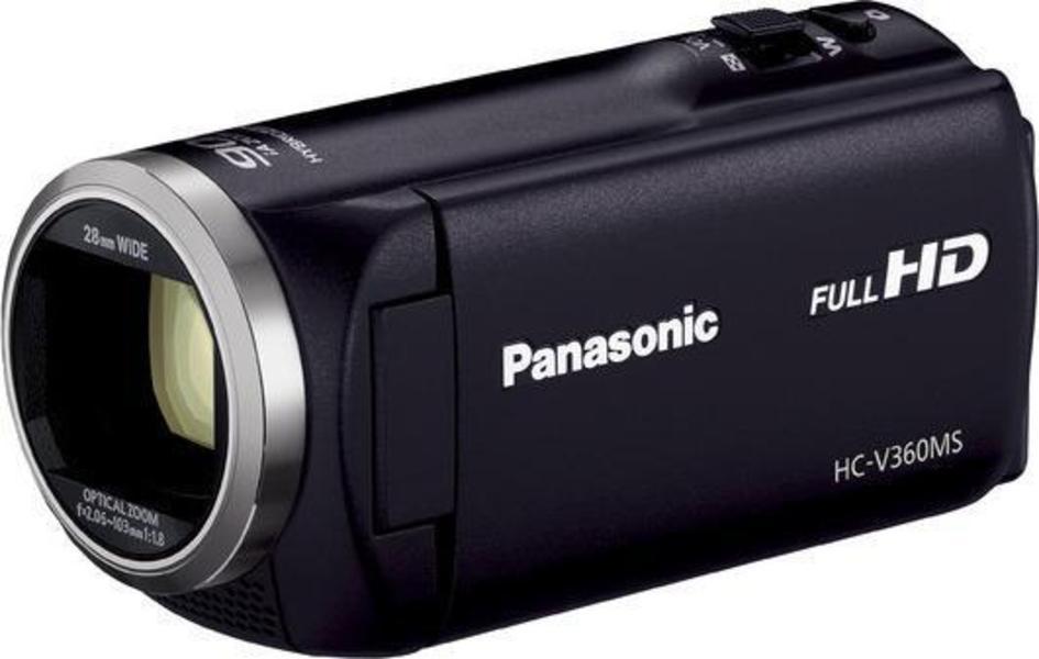 Panasonic HC-V360 angle