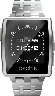 Pebble Steel Smartwatch Metal
