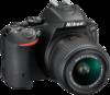 Nikon D5500 angle