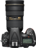 Nikon D810 digital camera top