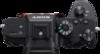Sony Alpha A7R III Digital Camera top