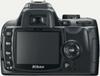 Nikon D60 digital camera rear