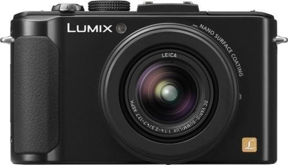 Panasonic Lumix DMC-LX7 front