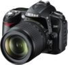 Nikon D90 Digital Camera angle