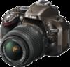 Nikon D5200 Digital Camera angle