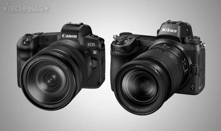 Nikon Z7 Canon EOS R vs Nikon Z7 Full Frame Mirrorless Camera Comparison - TechPinas