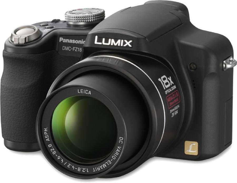 Panasonic Lumix DMC-FZ18 Testbericht: Panasonic Lumix DMC-FZ18