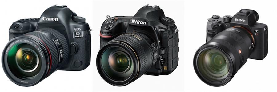 Nikon D850 Sony a7R III vs. Canon 5D Mark IV vs. Nikon D850 | PDN Online