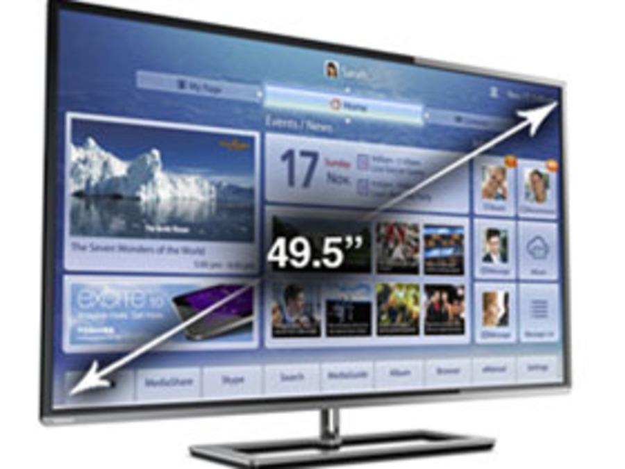 Toshiba 50L7300UM Toshiba 50L7300U Review: A 50-Inch LED HDTV With Wi-Fi